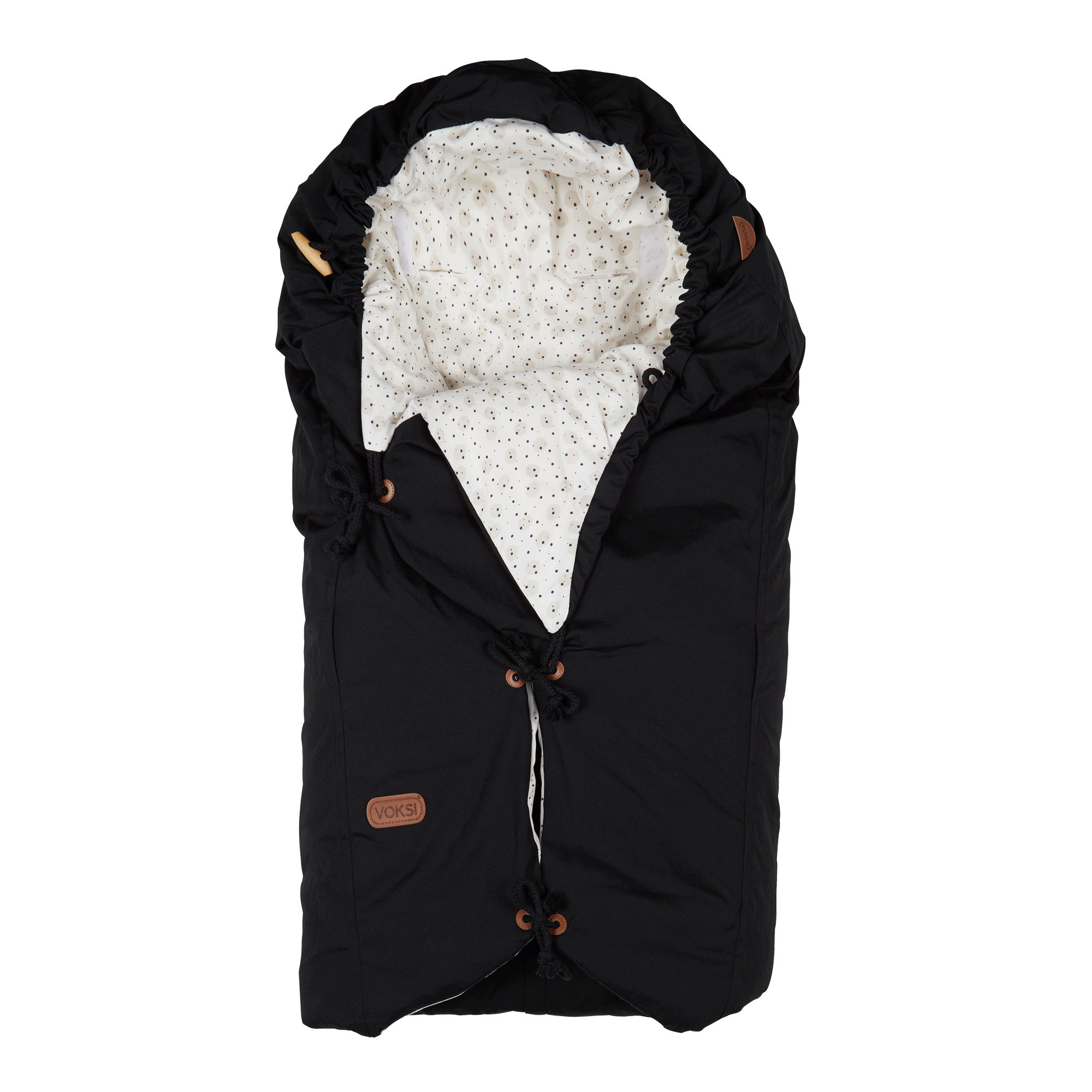 Voksi_Classic+_Sleeping_bag_Moon-Black